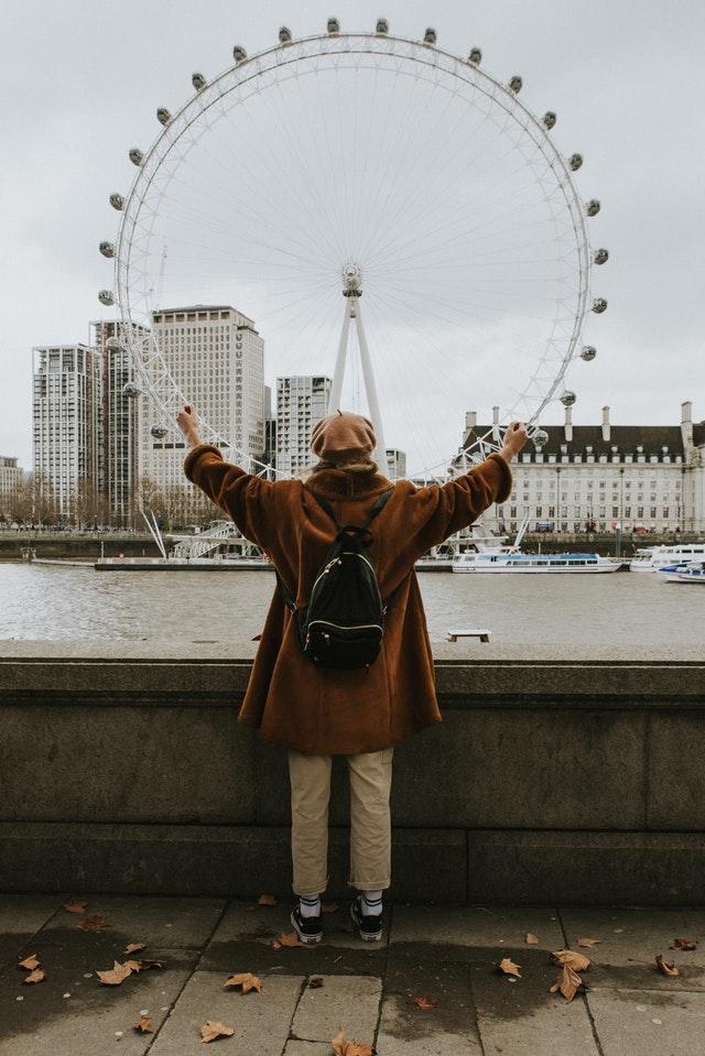 London Eye (Circumference is Pi x D)