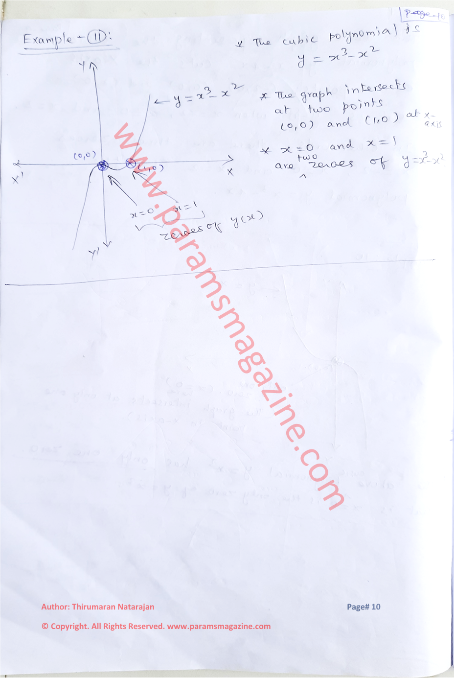 Class-10 - Polynomials - Notes - Page-10