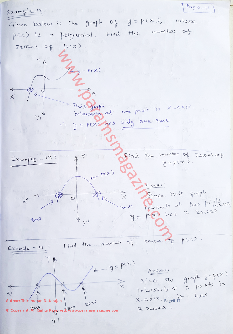 Class-10 - Polynomials - Notes - Page-11