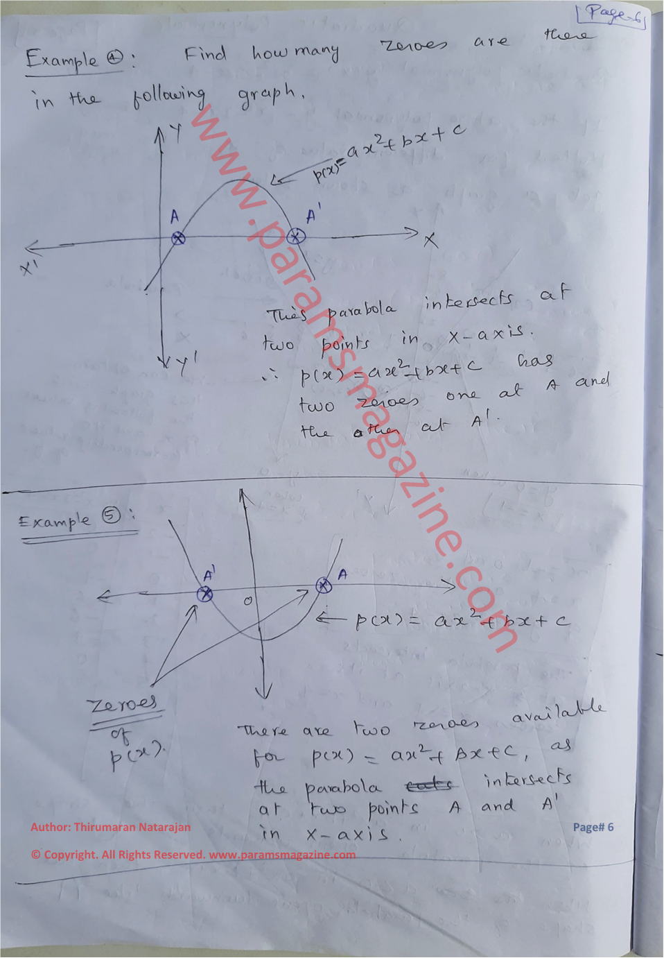 Class-10 - Polynomials - Notes - Page-6
